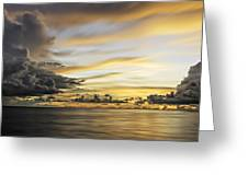 Forbidding Clouds Greeting Card