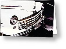 Ford '48 Greeting Card by Cathie Tyler