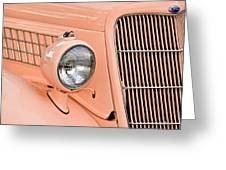 Ford Classic In Salmon Greeting Card
