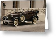 Ford Convertible 01 Greeting Card
