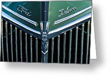 Ford Deluxe V8 Greeting Card