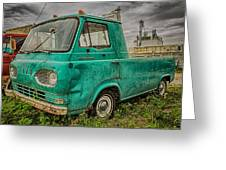 Ford Econoline Pickup Greeting Card