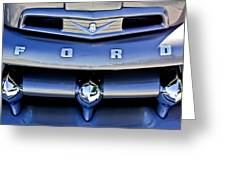 Ford F-1 V8 Truck Front End Greeting Card
