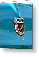 Ford F-100 Greeting Card