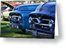 Ford F-100s Greeting Card