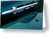 Ford F-2 Pickup Truck Side Emblem Greeting Card