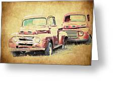 Ford F1 Greeting Card