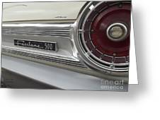 Ford Fairlane 500 Emblem Greeting Card