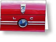 Ford Falcon 1 Greeting Card