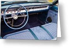 Ford Falcon Futura Interior Greeting Card