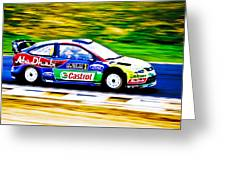 Ford Focus Wrc Greeting Card by motography aka Phil Clark