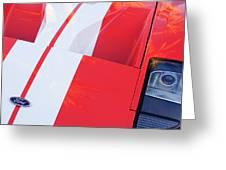Ford Gt40 Sports Car Greeting Card