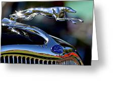 Ford Hood Ornement Greeting Card