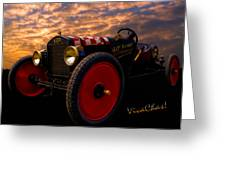 Ford Hot Rodney Special Greeting Card