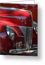 Ford Hotrod Greeting Card
