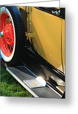 Ford Model A Greeting Card