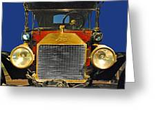 Ford Model T Greeting Card