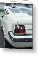 Ford Mustang Gt 350 Greeting Card