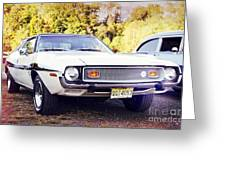 Ford Mustang New Jersey Usa Greeting Card