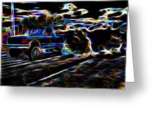 Ford Power 1 Greeting Card