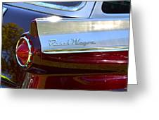 Ford Ranch Wagon Greeting Card