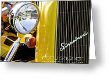 Ford Roadster - 1932 Greeting Card