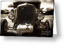 Ford Rod Greeting Card
