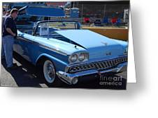 Ford Skyliner Greeting Card