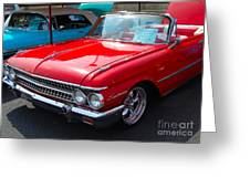 Ford Sunliner Greeting Card