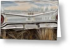 Ford Tail Lights 2 Greeting Card