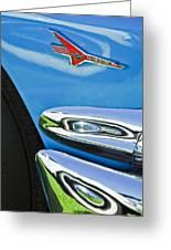 Ford Thunderbird Emblem -0505c Greeting Card