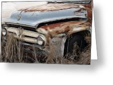 Ford Truck Old F350 Greeting Card