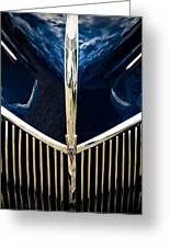 Ford V8 Grill Greeting Card by Phil 'motography' Clark