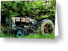 Fordson Major Diesel Greeting Card by Robert J Andler