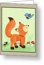 Forest Friends - Fox Greeting Card
