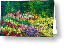 Forest Garden Greeting Card