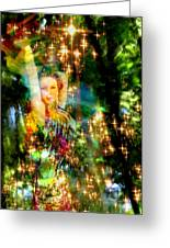 Forest Goddess 4 Greeting Card