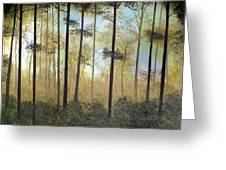 Forest Harmony Greeting Card