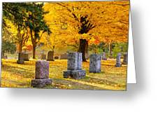Autumn At Forest Hill Greeting Card
