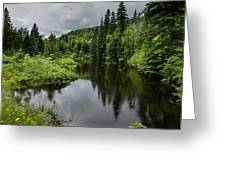 Forest Lake - Quebec - Canada Greeting Card