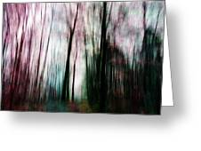Forest Of Imagination Greeting Card
