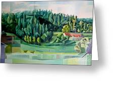 Forest Of L Hermitiere Or The Orchestra Greeting Card