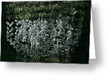 Forest On The Mountainside Greeting Card