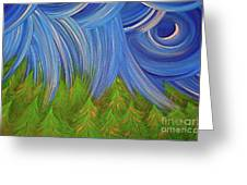 Forest Rain By Jrr Greeting Card