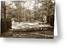 Forest Theater Carmel California  Circa 1930 Greeting Card