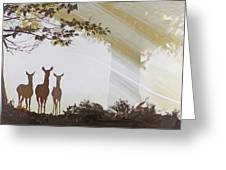 Forest Trio Greeting Card