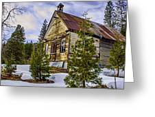 Forestcity School House Greeting Card