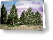 Forest's Edge Greeting Card