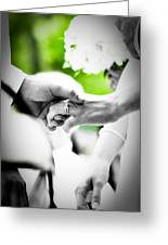Forever Greeting Card by BandC  Photography