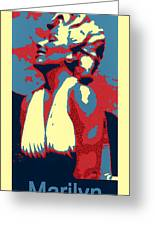 Forever Marilyn Poster Greeting Card